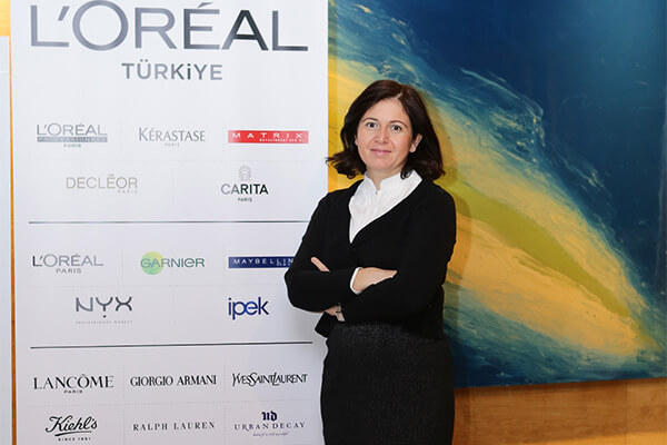 L'Oréal Türkiye Kurumsal İletişim Direktörü Filiz Ecet