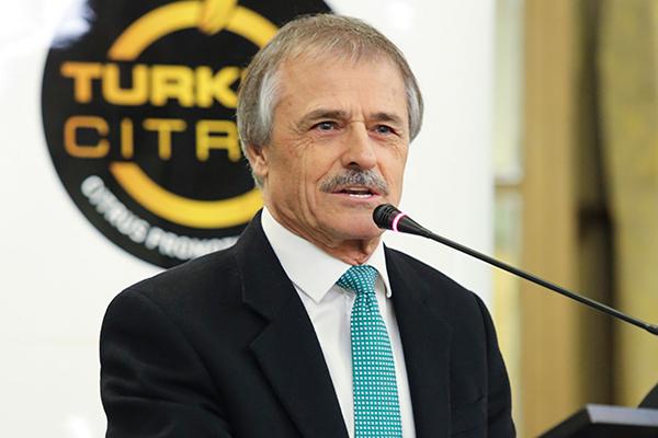Narenciye Tanıtım Grubu Başkanı ve Akdeniz Yaş Meyve Sebze İhracatçıları Birliği Başkanı Ali Kavak