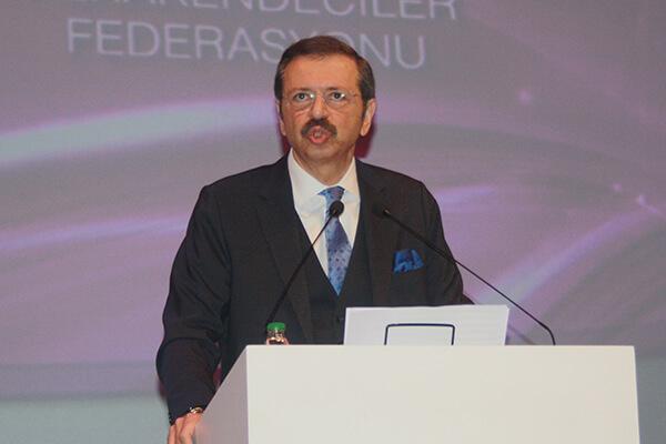 Türkiye Odalar ve Borsalar Birliği (TOBB) Başkanı M. Rifat Hisarcıklıoğlu