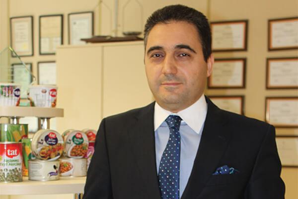 Yurt Konserve Satış ve Pazarlama Direktörü Arif Suna