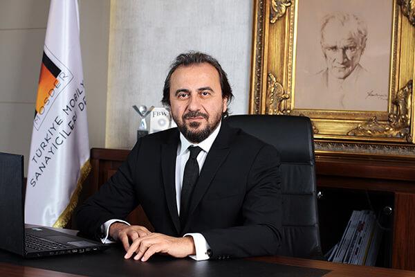 Türkiye Mobilya Sanayicileri Derneği (MOSDER) Başkanı Nuri Öztaşkın