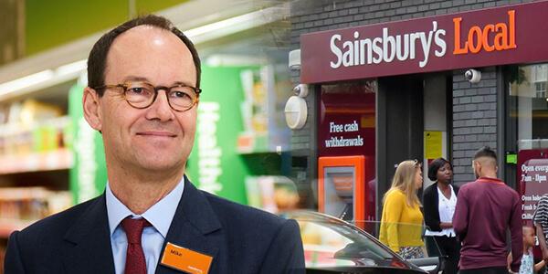 Sainsbury CEO'su Mike Coupe