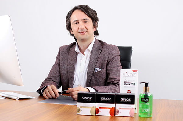 Sinoz Kozmetik Yönetim Kurulu Başkanı Yasin Çörekçi