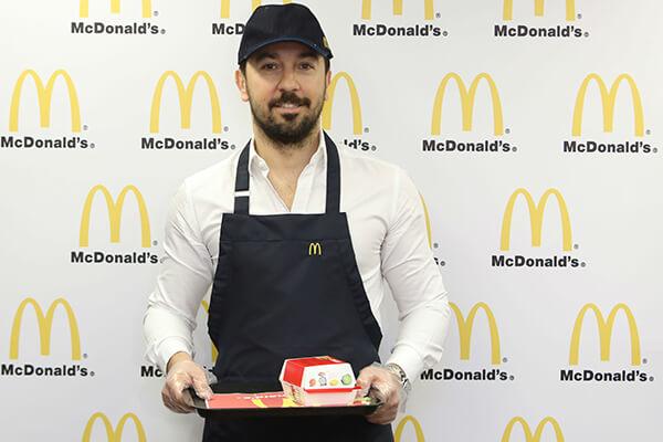 McDonald's Genel Müdürü Oğuz Uçanlar