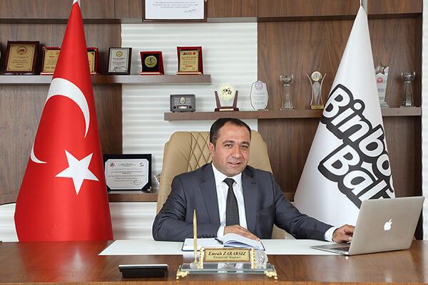 Binboğa Bal Kooperatif Başkanı Emrah Zararsız