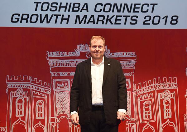 Toshiba Global Commerce SolutionsBaşkan Yardımcısı Thomas Buchholz