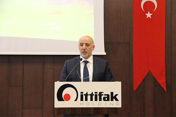 İttifak Holding Yönetim Kurulu Başkanı Ünsal Sözbir