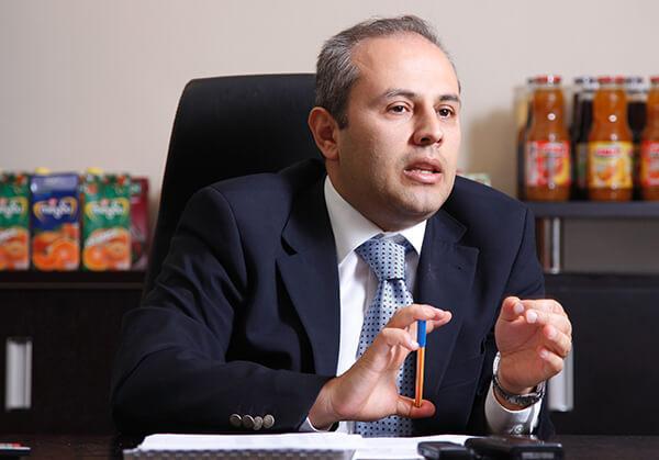 Meyve Suyu Endüstrisi Derneği (MEYED) Yönetim Kurulu Başkanı İlker Güney