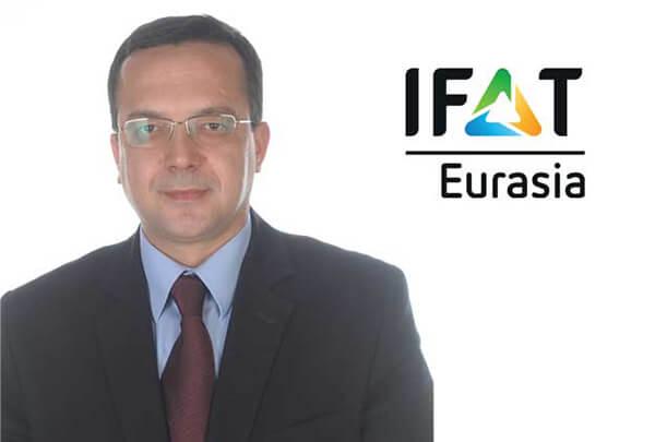 IFAT Eurasia Proje Müdürü Namık Sarıgöl
