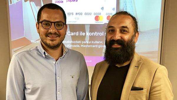 Papara Yönetim Kurulu Başkanı Ahmed F. Karslı ve Ceo'su İlker Diker