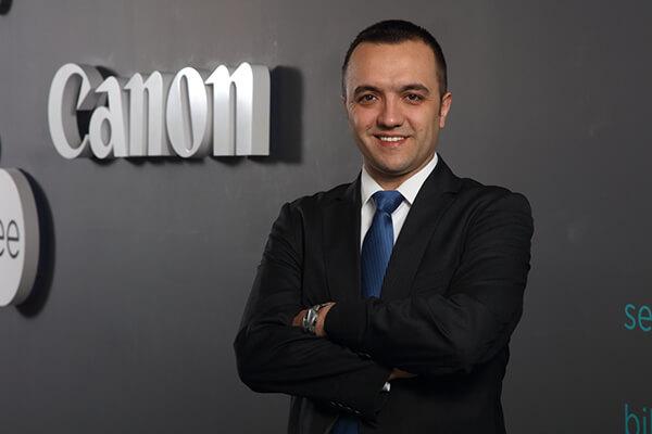 Canon B2B Pazarlama Müdürü İsmet Özdemir