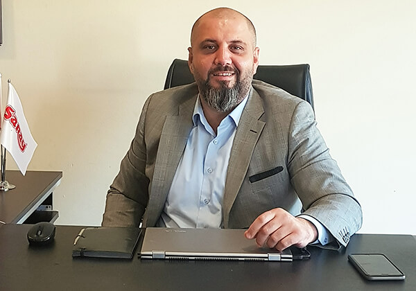 Saray Bisküvi Satış Direktörü V. Kemal Kısa