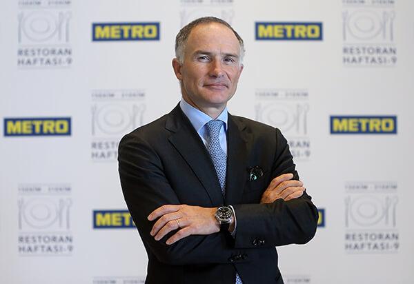Metro Türkiye Yönetim Kurulu Başkanı Boris Minialai
