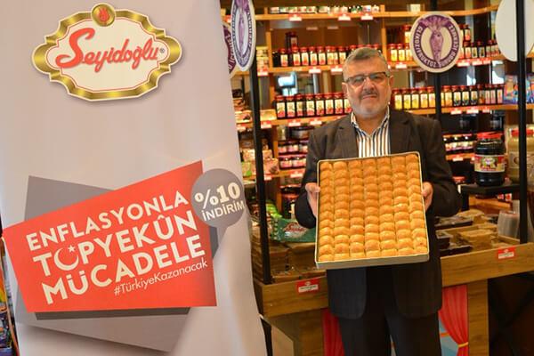 Seyidoğlu Gıda Yönetim Kurulu Başkanı Necati Göksu