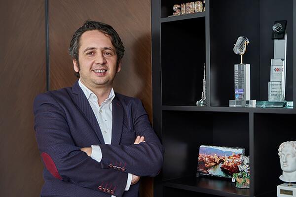 Sinoz Dermokozmetik Yönetim Kurulu Başkanı Yasin Çörekçi