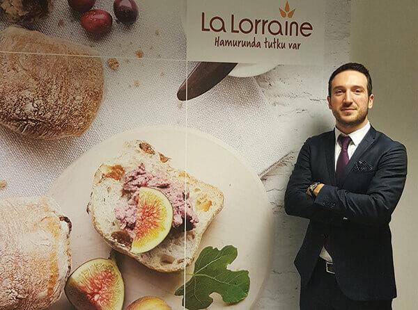 La Lorraine Pazarlama Müdürü Can Karakuş