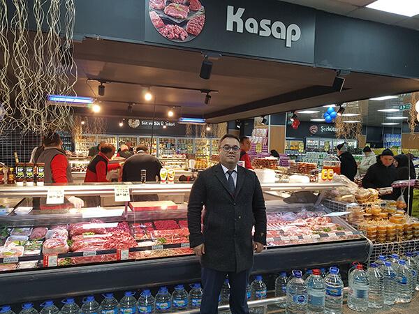Kim Market Genel Koordinatörü Ahmet Yıldız