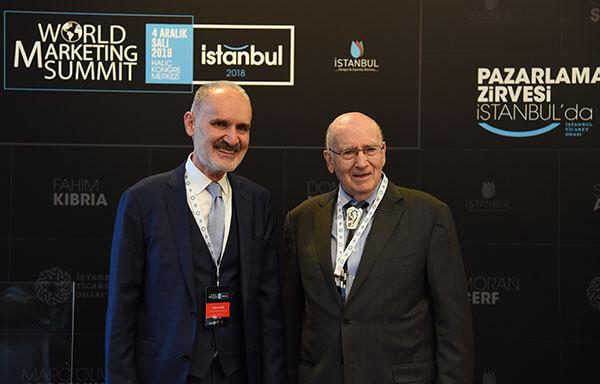 İTO Başkanı Şekib Avdagiç ve Profesör Philip Kotler