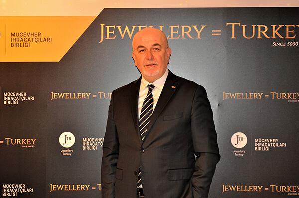 Mücevher İhracatçıları Birliği Yönetim Kurulu Başkanı Mustafa Kamar