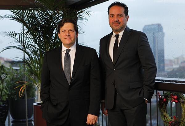 Penti Yönetim Kurulu Başkanı Sami Kariyo, Penti Giyim A.Ş. CEO Mert Karaibrahimoglu