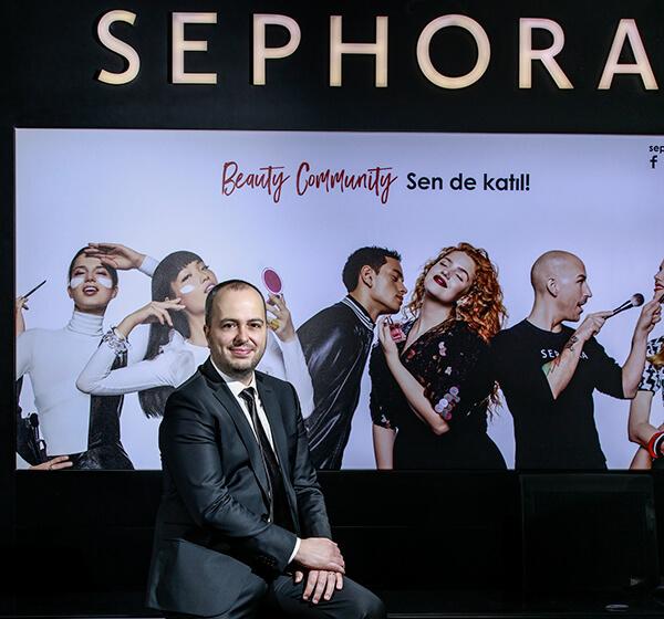 Sephora Türkiye Genel Müdürü Fevzi Keçeci