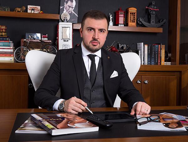 Yeni İnci Yönetim Kurulu Başkanı Furkan Atakan.