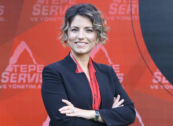 Tepe Servis ve Yönetim Genel Müdürü Canan Çakmakcı