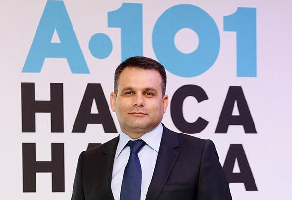 A101 CEO'su Erhan Bostan.