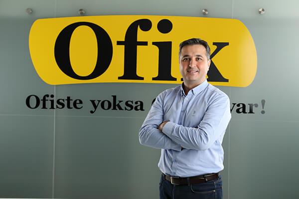 Ofix.com CEO'su Gürkan Uğraş.
