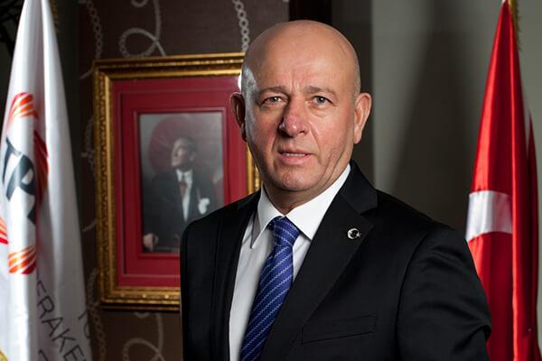 TPF Yönetim Kurulu Başkanı Mustafa Altunbilek