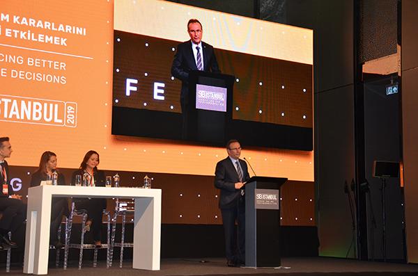 """Reis Gıda Yönetim Kurulu Başkanı Mehmet Reis, """"İyi yaşam için sürdürülebilir gıda"""" konusunda bilgiler verdi."""
