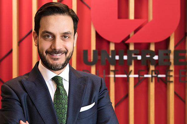 Unifree CEO'su Ali Şenher.