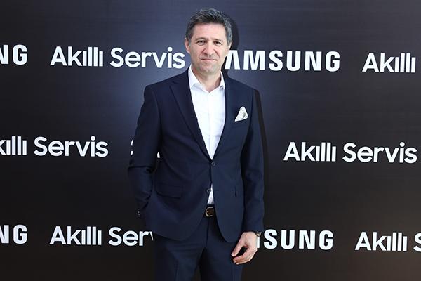 Samsung Electronics Türkiye Müşteri Hizmetlerinden Sorumlu Başkan Yardımcısı Gökhan Uğurlu.