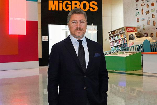 Migros Ticaret A.Ş. İcra Kurulu Üyesi Cem Rodoslu.