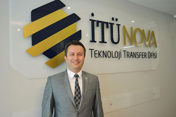 İTÜNOVA TTO Genel Müdürü Dr. Ercan Çitil.