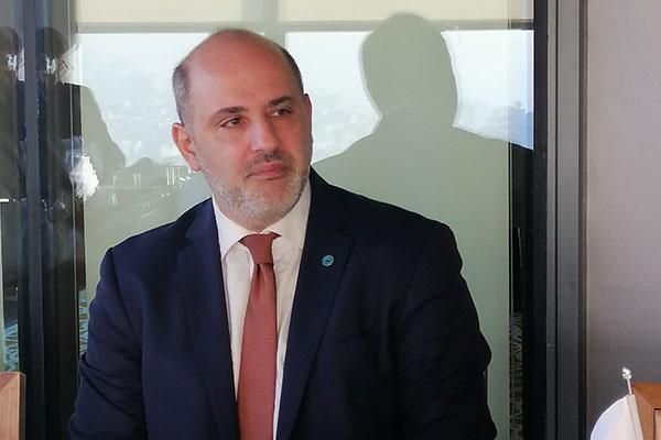 Türkiye Ayakkabı Sektörü Araştırma Geliştirme ve Eğitim Vakfı (TASEV) Başkanı TASEV Başkanı Tan Erdoğdu.