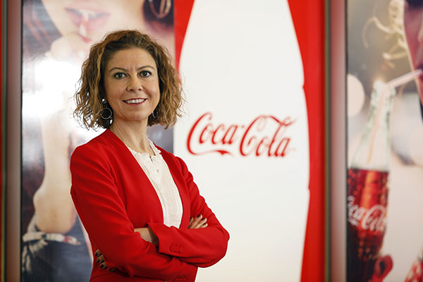 Coca-Cola Türkiye, Kafkasya ve Orta Asya İş Birimi Pazarlama Direktörü Elif Kaypak.