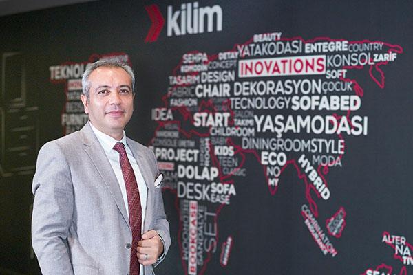 Kilim Mobilya Genel Müdür Cihat Şahin.