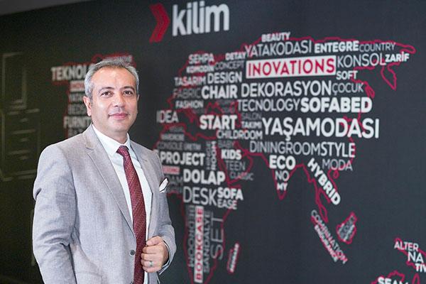 Kilim Mobilya Genel Müdürü Cihat Şahin.