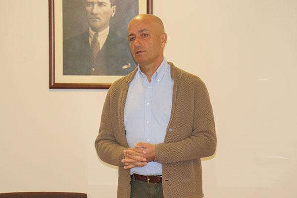 UYMSİB Başkan Yardımcısı Prof. Dr. Senih Yazgan.