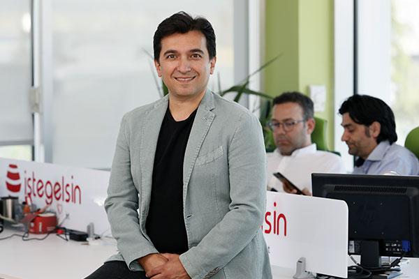 istegelsin CEO'su Sedat Yıldırım.