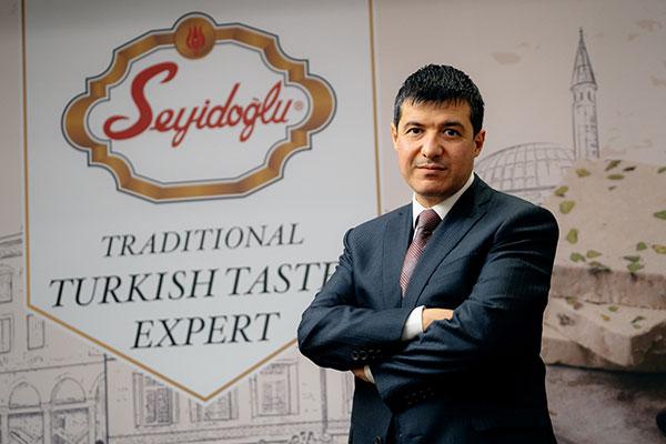 Seyidoğlu Gıda Genel Müdür Mehmet Göksu.