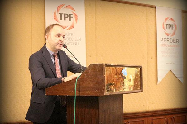Türkiye Perakendeciler Federasyonu (TPF) Yönetim Kurulu Başkanı Ömer Düzgün.