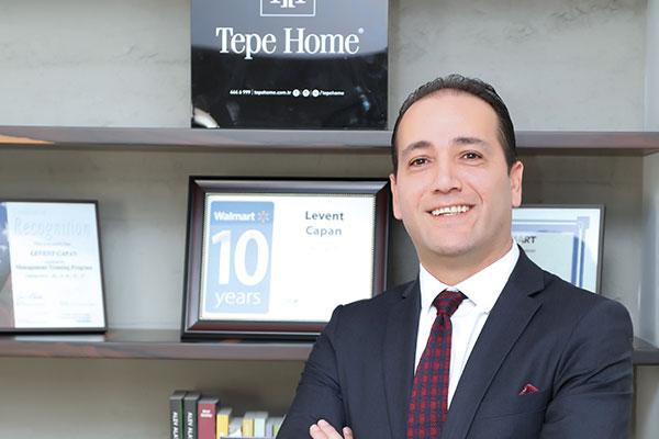 Tepe Home Genel Müdürü Levent Çapan.