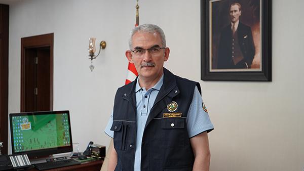 Orman Genel Müdürü Bekir Karacabey.