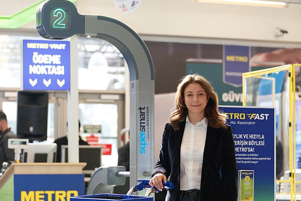 Metro Türkiye Yönetim Kurulu Başkanı Sinem Türüng.